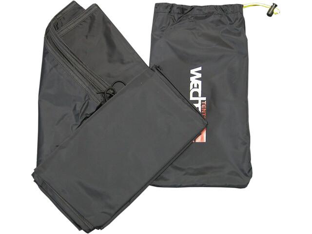 Wechsel Forum 4 2 Groundsheet Tentaccessoires textiel zwart